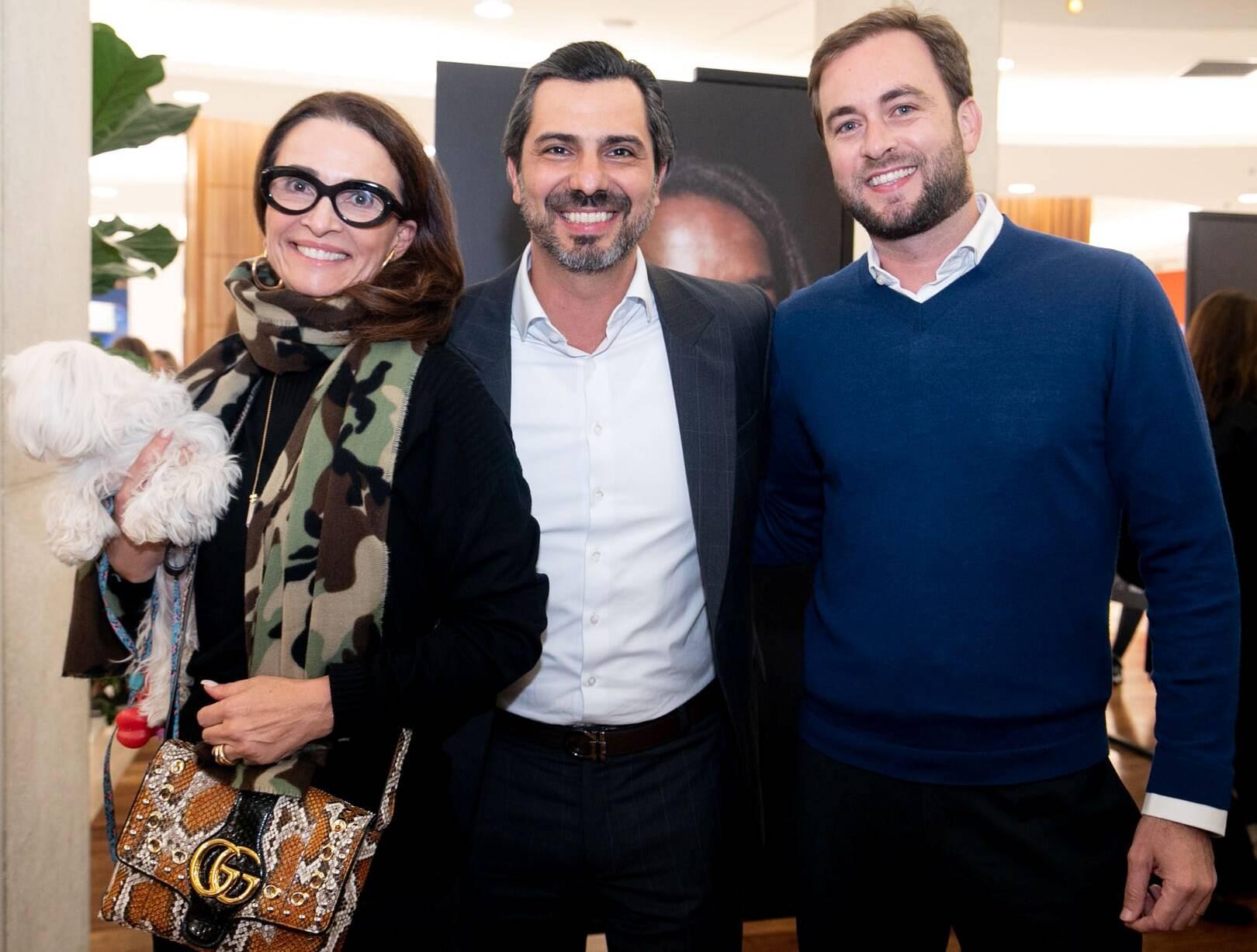 Andrea Natal, Rodrigo Lovatti e Cassiano Vitorino / Foto: Miguel Sá