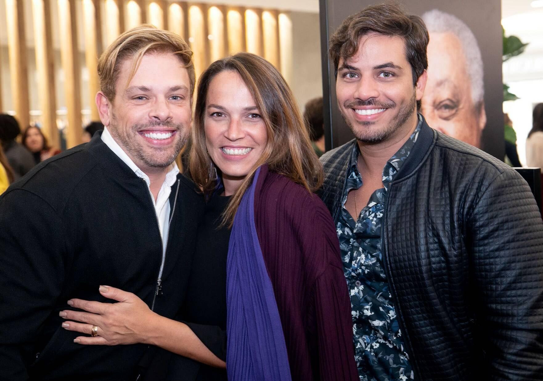 Bruno Chateaubriand, Marina Caruso e Diogo Bocca  / Foto: Miguel Sá