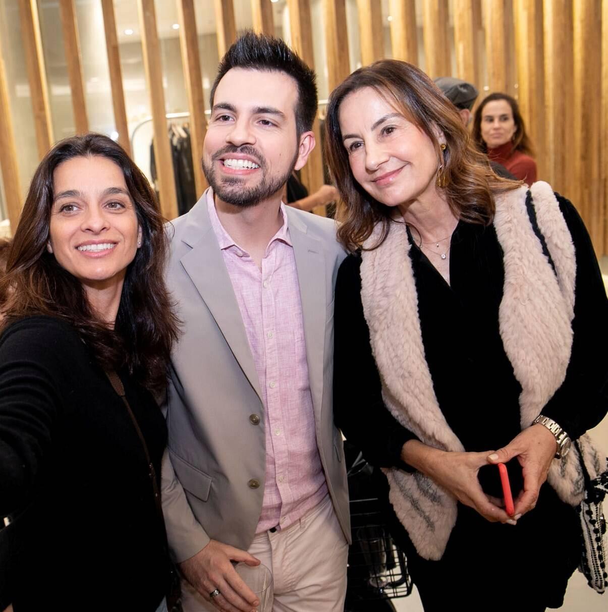 Luiza Figueira de Mello, Leo Bruno e Ana Carolina Gayoso /  Foto: Miguel Sá