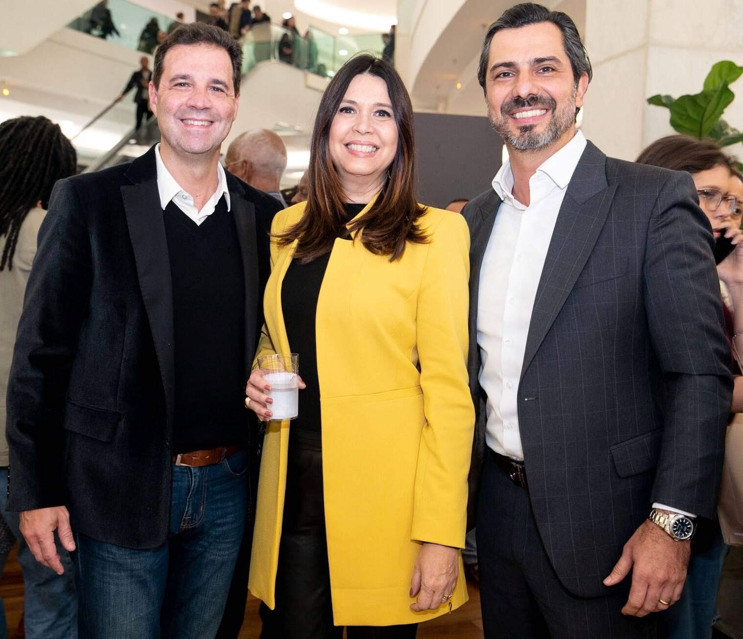 Sérgio Pessoa, Monica Monerat e Rodrigo Lovatti/  Foto: Miguel Sá