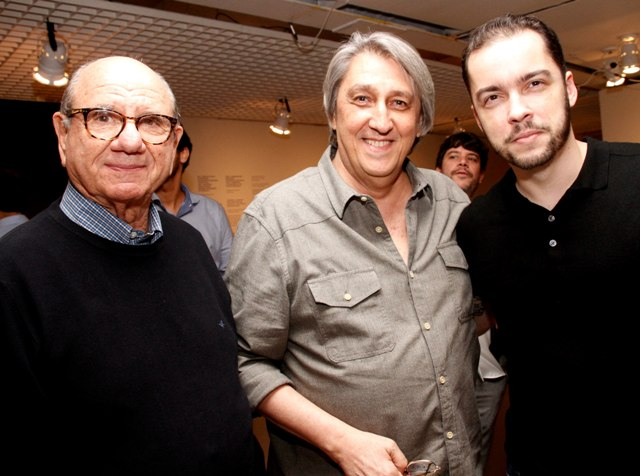 Adolfo Lerner, Waltercio Caldas e Antônio Mourão