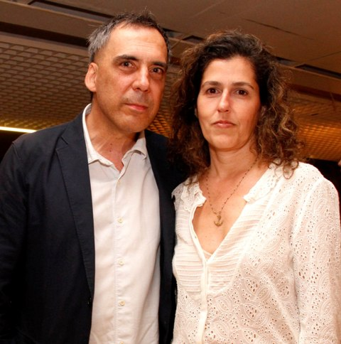Arnaldo Antunes e Marcia Xavier