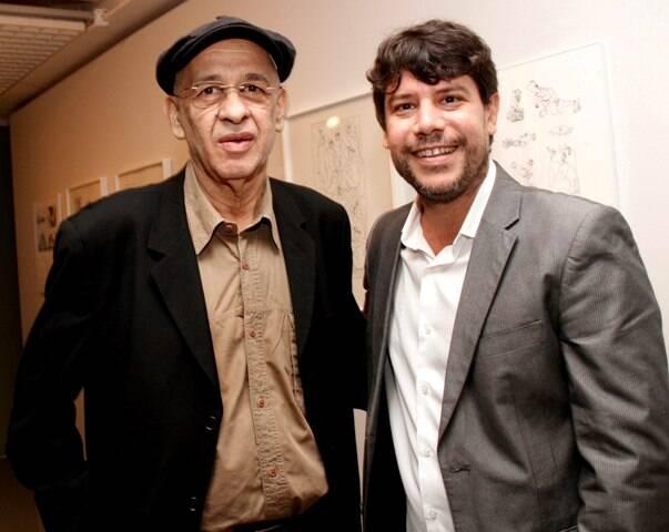 Cildo Meirelles e Daniel Rangel