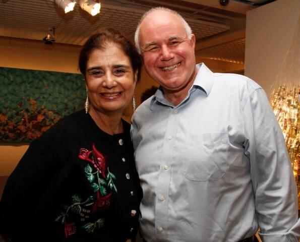 Katia d'Avillez e Simon Watson