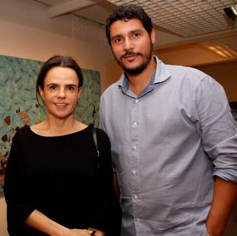 Luciana Britto e Yuri Oliveira