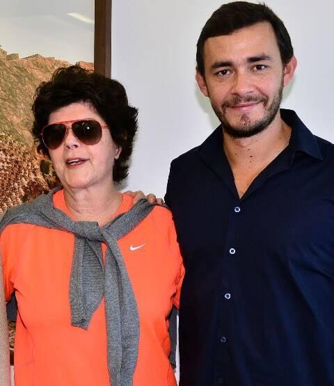 Vera de Alencar e Rafael Alves