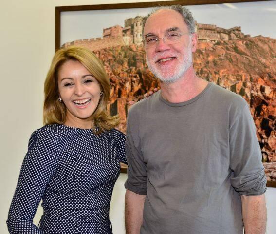 Alejandra Castro e Ângelo Venosa