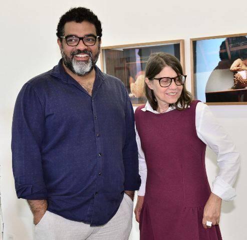 Marcelo Campos e Brígida Baltar