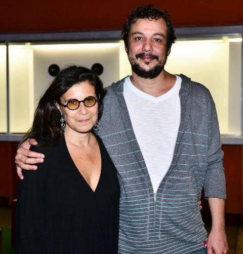 Cláudia Bakker e Floriano Romano