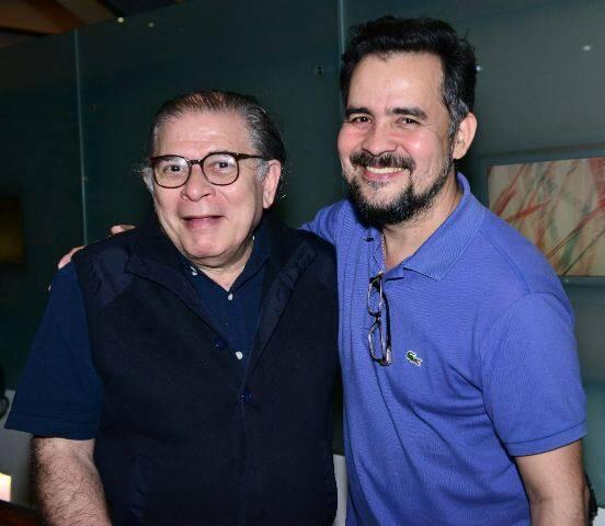 Luciano Figueiredo e Alberto Saraiva