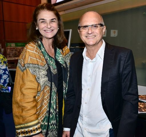 Léa Klabin e Márcio Doctors