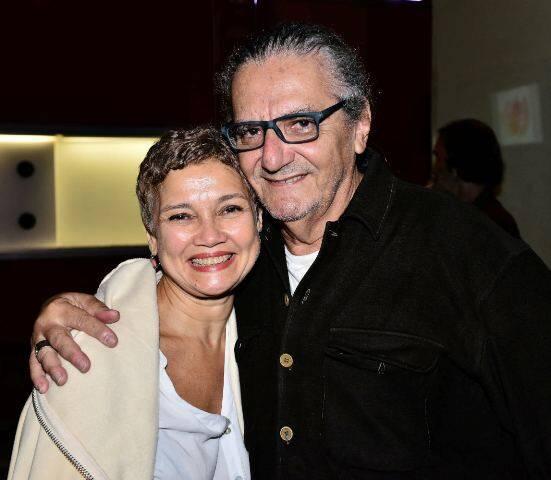 Elisa de Magalhães e Jorge Salomão