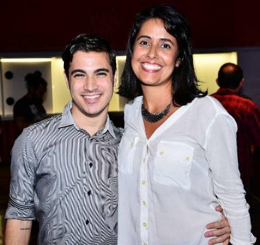 Rodrigo Andrade e Tatiana Laura