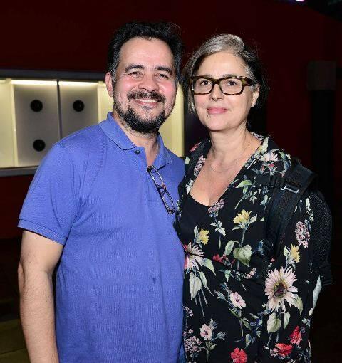 Alberto Saraiva e Beth Jobim
