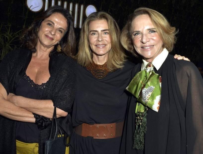 Sonia Racy, Maitê Proença e Lenny Niemeyer  /Foto: Cristina Granato