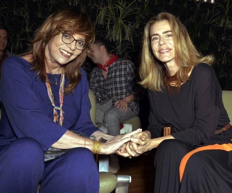 Glória Perez e Maitê Proença  /Foto: Cristina Granato