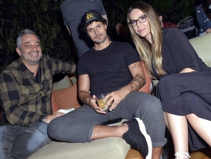 Ronaldo Simões, Zanini de Zanine e Marcela Bartolomeo /Foto: Cristina Granato