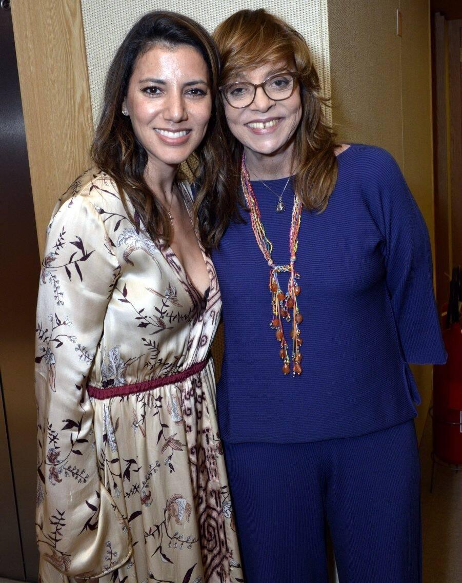 Carol Filgueiras  e Glória Perez /Foto: Cristina Granato