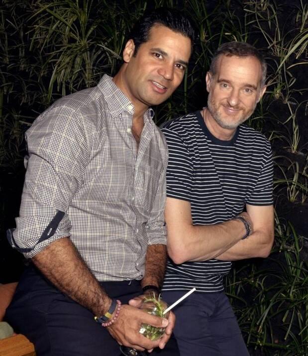 Gustavo Filgueiras e Stefano Zunino /Foto: Cristina Granato