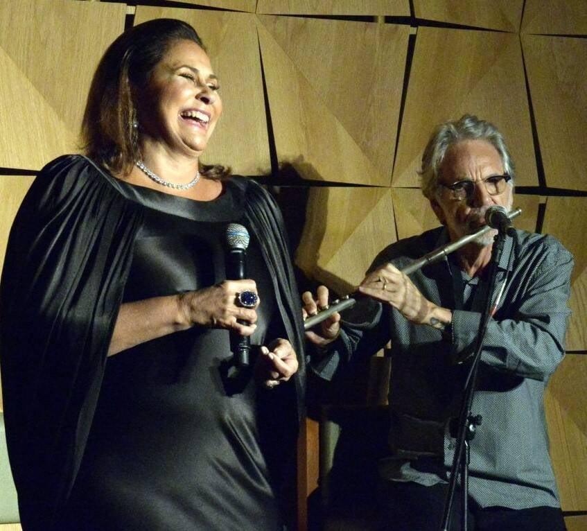 Fafá de Belém e Raul Mascarenhas   /Foto: Cristina Granato