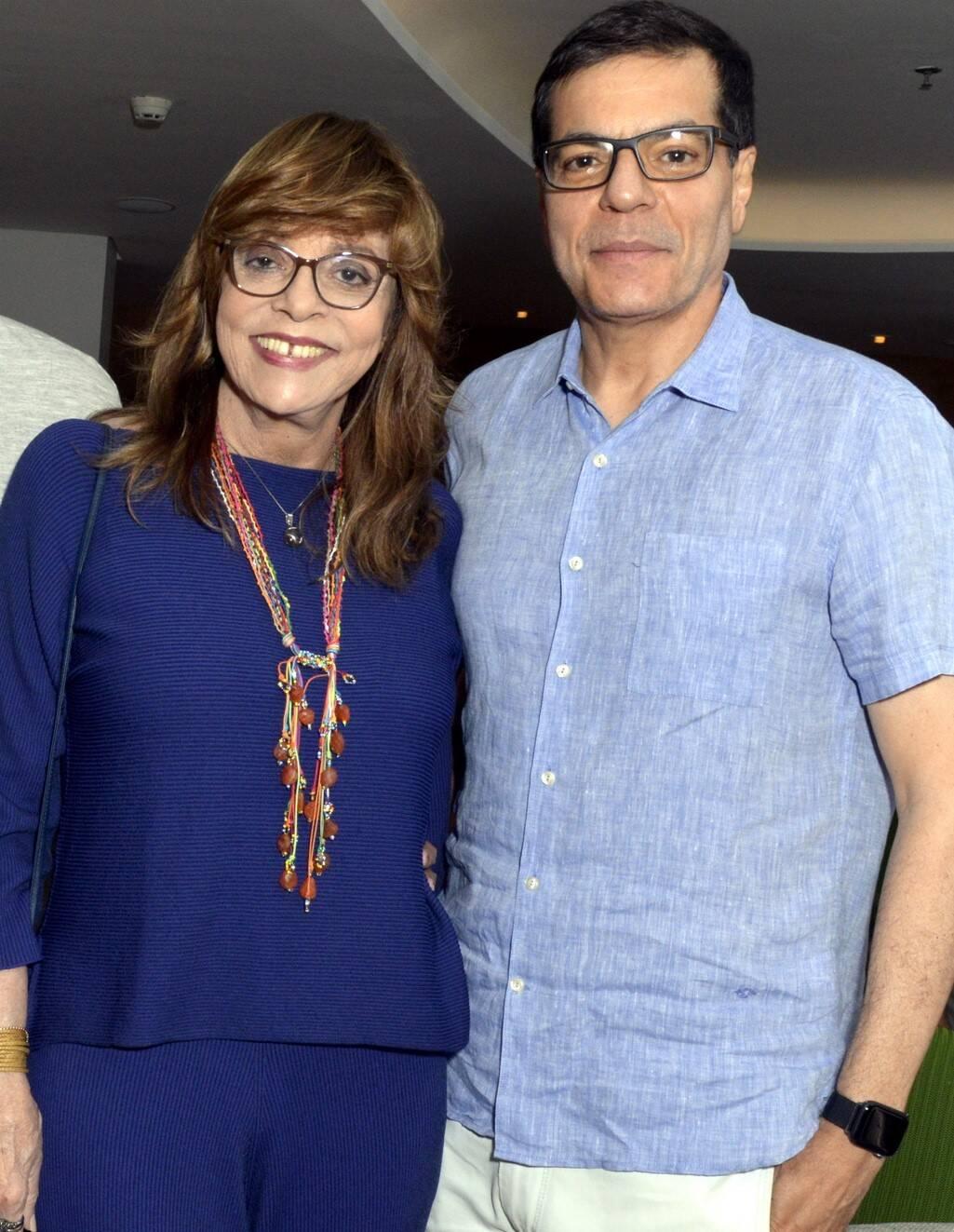 Glória Perez e Ali Kamel /Foto: Cristina Granato
