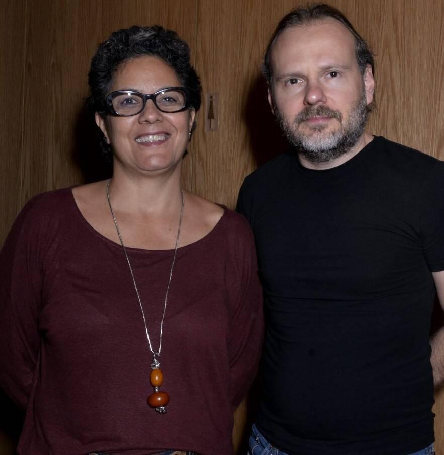 Ana Basbaum e Fábio Buitvidas /Foto: Cristina Granato