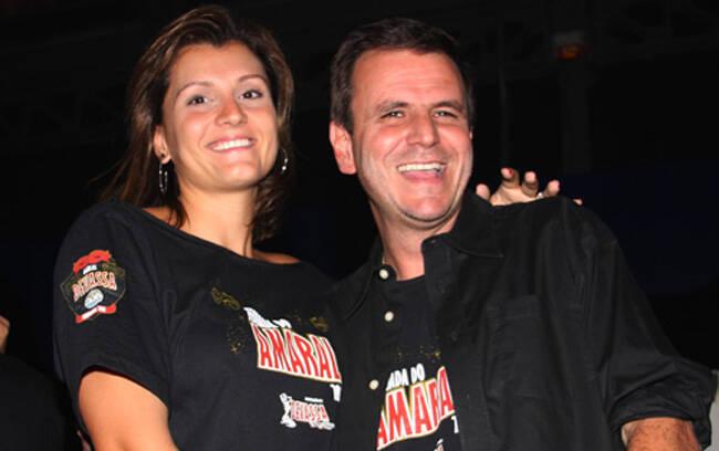 Cris e Eduardo Paes