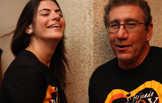 Camila Leiloz e Mauricio Saade