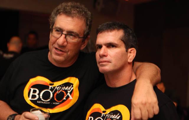 Mauricio Saade e Alexandre Salim