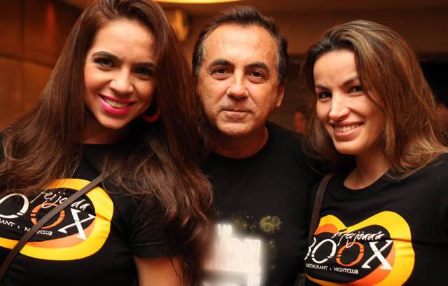 Nevilla Palmieri, Ricardo Rique e Zizi Vieira