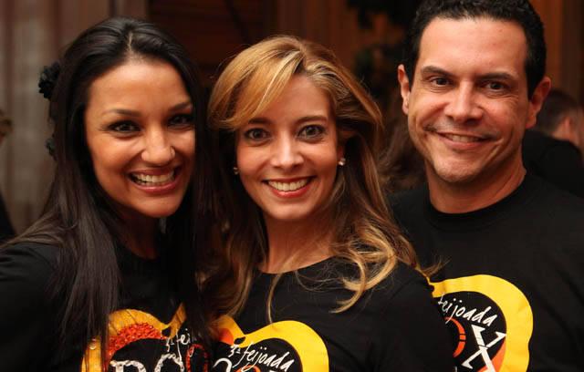 Vania Guimarães, Karla Assed e Andre Barbosa