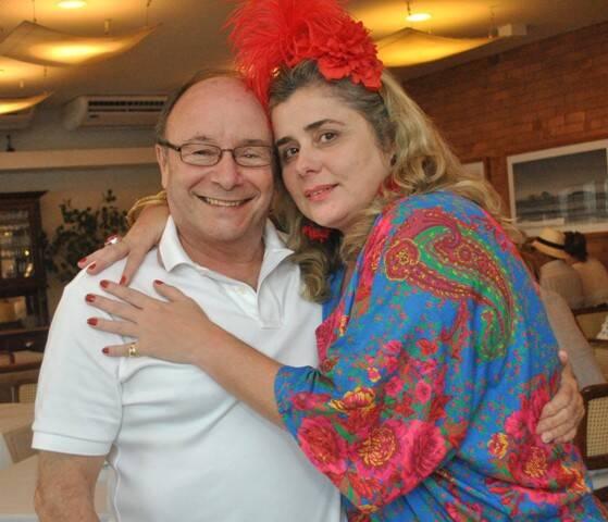 Luiz Tucherman e Andrea Wanderley