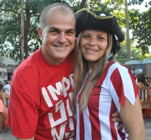 Luiz Augusto Araújo e Bel Duarte