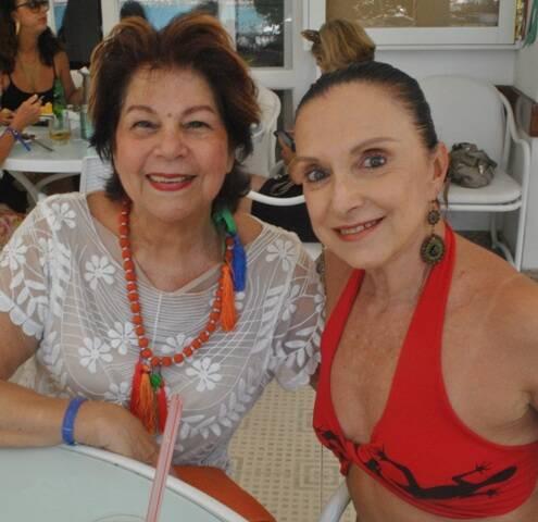 Marilu Rangel e Nora Esteves