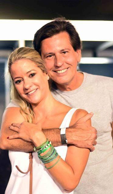 Celina Palhares e Rick Amaral