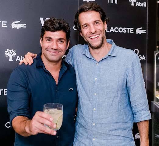 Felipe Bronze e Arturo Isola