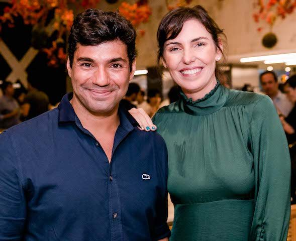 Felipe Bronze e Glenda Kozlowski