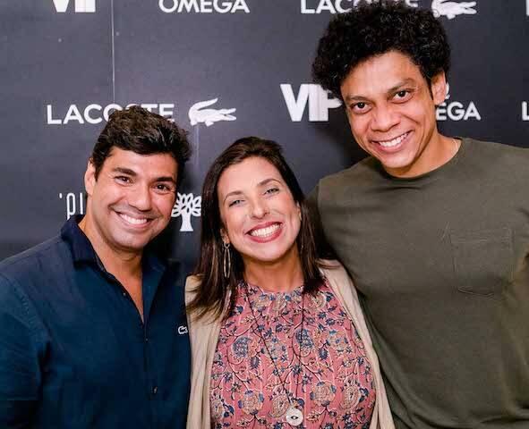 Felipe Bronze, Maria Vargas e Fábio Moreira