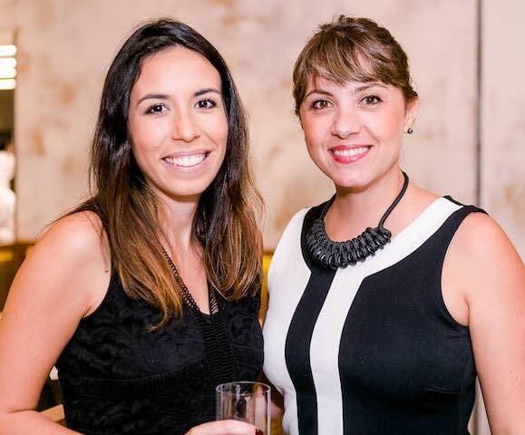 Gabrielle Barcelos e Cinthia Obrecht