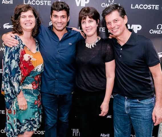 Olívia Guimarães, Felipe Bronze, Claudia Castro e Luis Nachbin