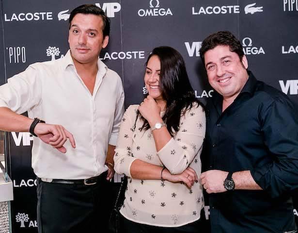 Ricardo Dale, Lívia Cracvenco e Giulliano Ricci