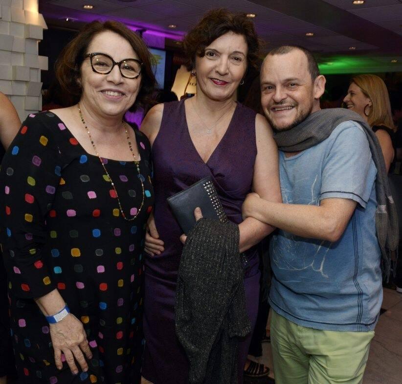 Carmen Mello, Sonia Rodrigues e Matheus Nachtergaele   /Foto: Cristina Granato