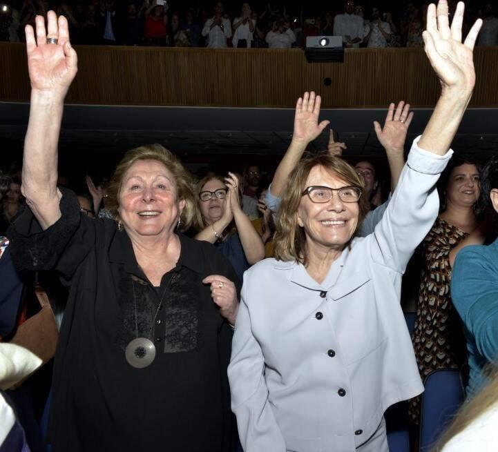 Aracy Balabanian e Renata Sorrah   /Foto: Cristina Granato