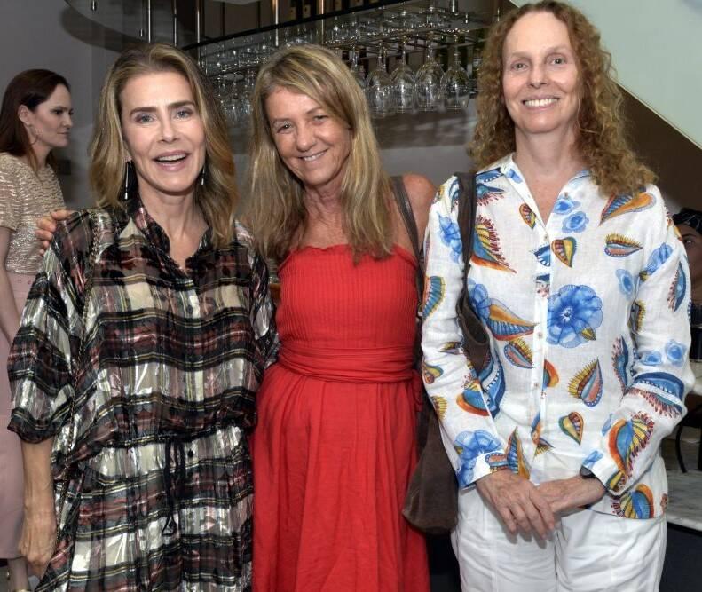 Maitê Proença, Priscilla Rozenbaum e Eva Doris  /Foto: Cristina Granato