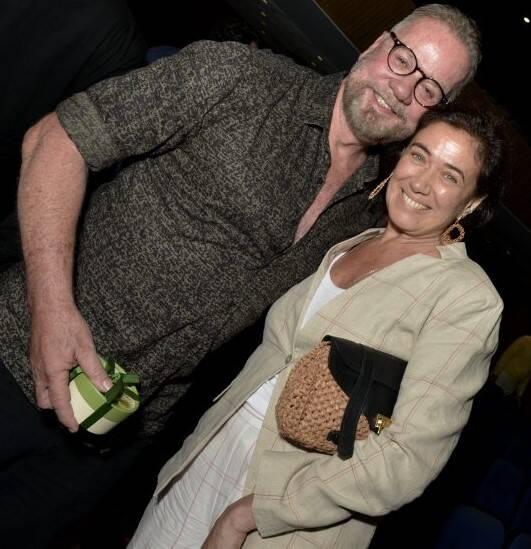 Luiz Fernando Guimarães e Lilia Cabral  /Foto: Cristina Granato