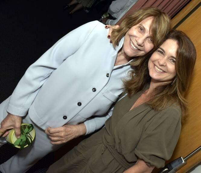 Renata Sorrah e  Claudia Abreu  /Foto: Cristina Granato