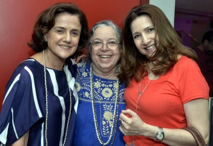 Marieta Severo, Camila Amado e Malu Valle  /Foto: Cristina Granato