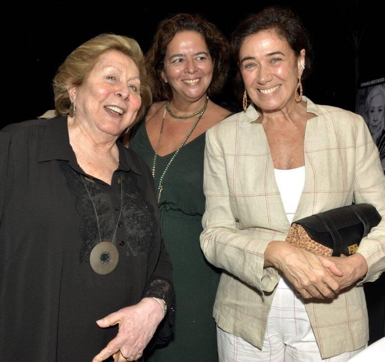 Aracy Balabanian, Luciana Oliveira e  Lilia Cabral   /Foto: Cristina Granato