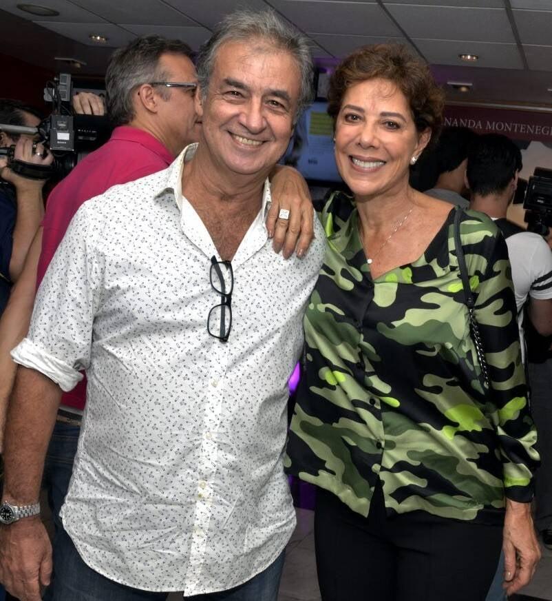 Miguel Paiva e Angela Vieira  /Foto: Cristina Granato