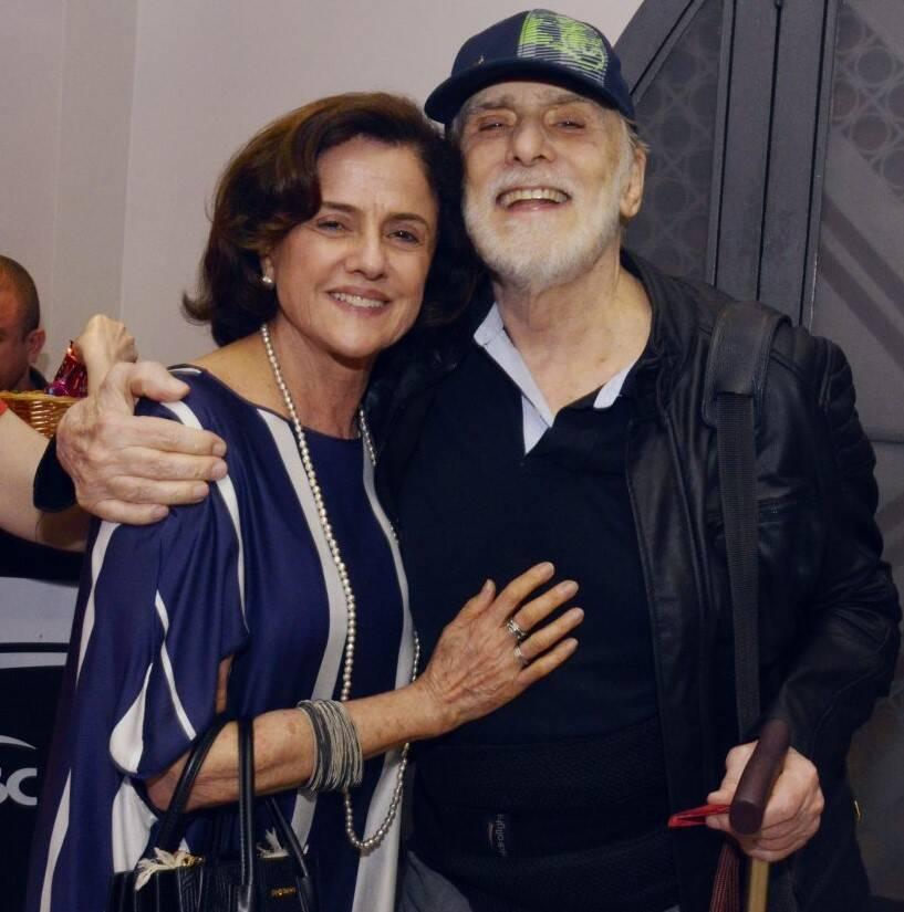 Marieta Severo e Francisco Cuoco    /Foto: Cristina Granato